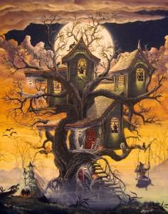Creepy Samhain House